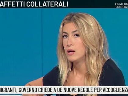 """Annalisa Chirico ad Agorà difende Matteo Salvini: """"Immigrati e ong, ha mantenuto le promesse"""""""