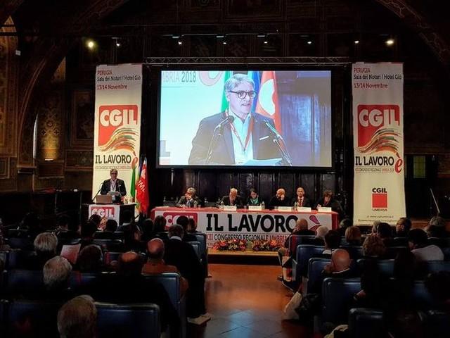 Cgil Umbria: Sgalla rieletto segretario generale