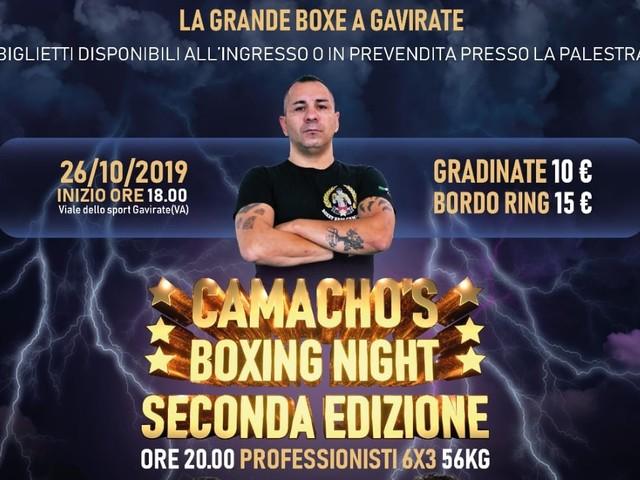 La grande boxe sul ring a Gavirate