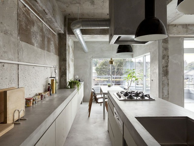 Rivestimenti e pareti in cemento