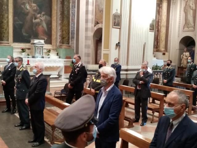 Macerata, la Guardia di Finanza celebra San Matteo: cerimonia con il Vescovo Marconi