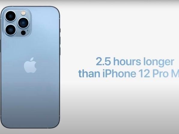 La gamma iPhone 13 al test della batteria