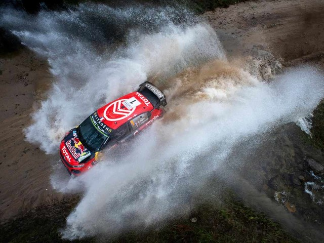 WRC Rally Argentina, Ogier riporta la Citroen ancora sul podio