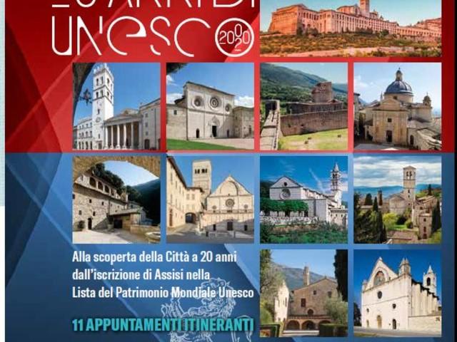 Assisi Patrimonio Mondiale Unesco, 11 visite per conoscere i luoghi simbolo