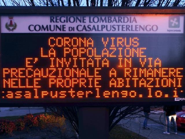 Coronavirus, nuovo caso di contagio in Veneto: è un uomo di 67 anni di Mira