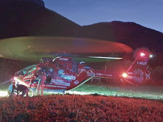 In Alto Adige l'elisoccorso ora vola fino alle 23