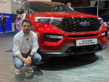 Ford Explorer plug-in hybrid in video da Francoforte 2019