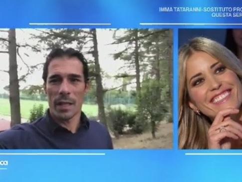 """Elena Santarelli a Domenica In: """"Non sapevo se avrei rivisto mio figlio dopo l'operazione"""""""