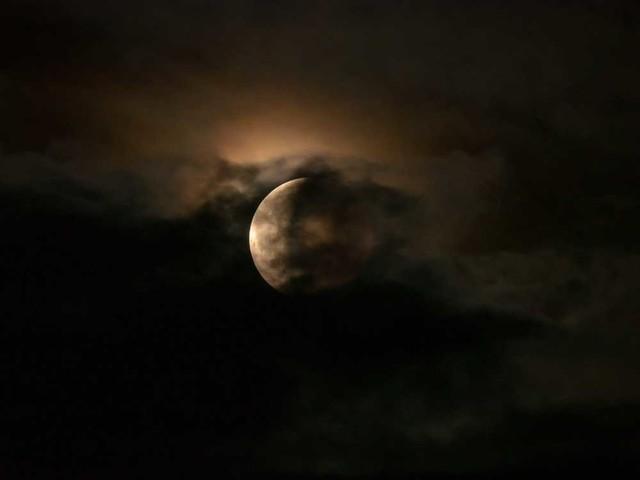 L'eclissi di Luna più scura del millennio fu causata da un vulcano giapponese