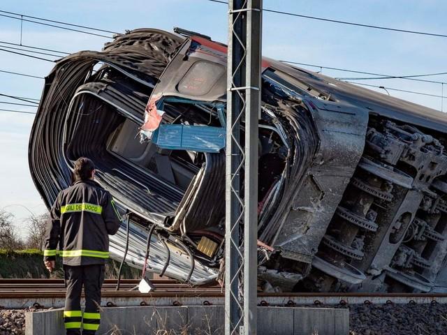 Lunedì riapre l'alta velocità dopo il deragliamento di Lodi