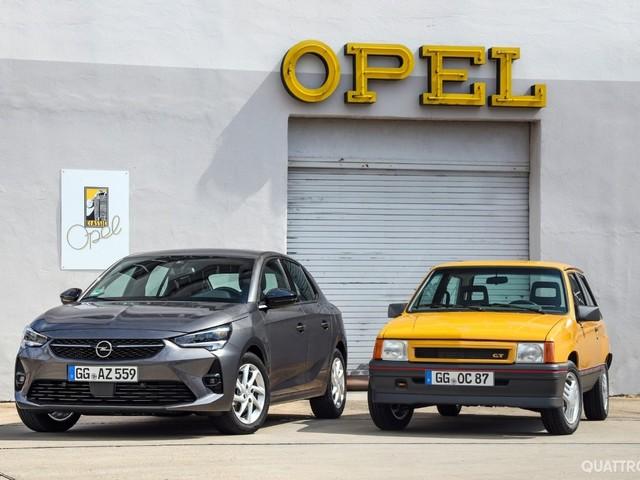 Opel Corsa - La storia della tedesca amata dagli italiani FOTO GALLERY