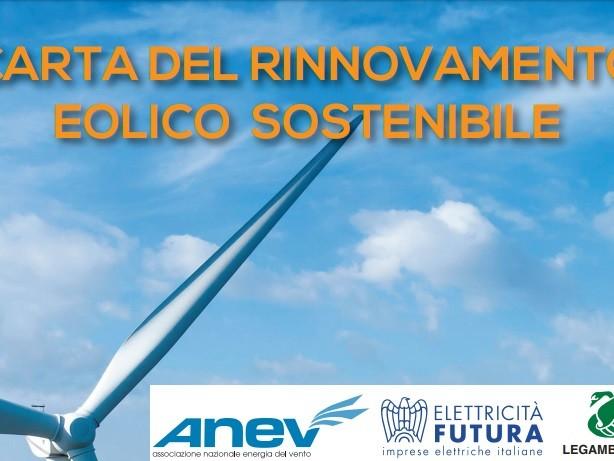 La Carta del rinnovamento eolico sostenibile