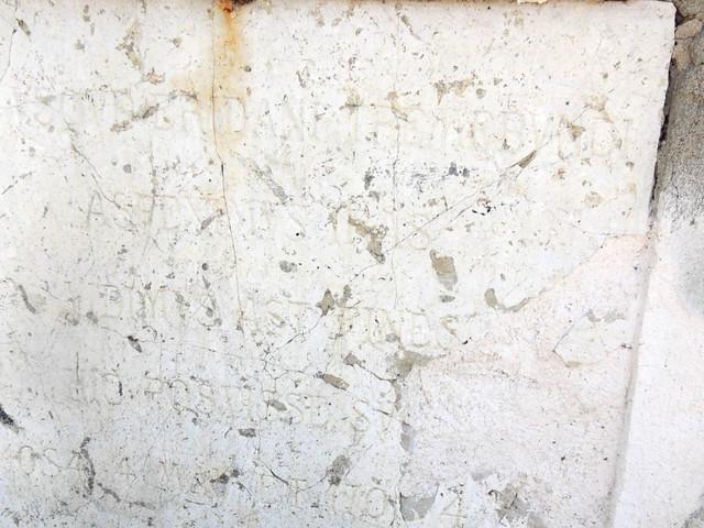 Salvate la lapide di Cella Dati che ricorda le piene del Po