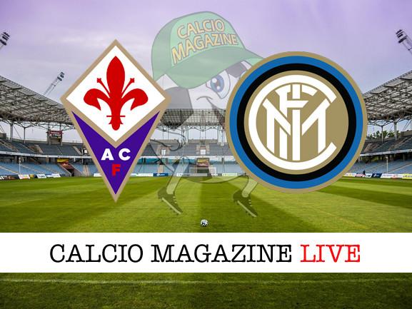 Fiorentina – Inter: cronaca diretta live, risultato in tempo reale