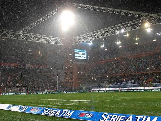 Allerta meteo a Genova: a rischio rinvio Samp-Torino