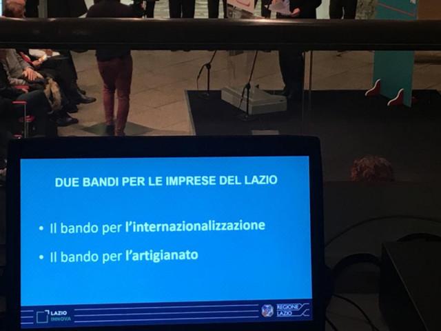 PMI, dalla Regione Lazio 5 milioni di euro per migliorare la competitività