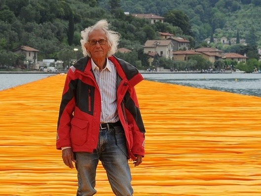 Christo: Beauty, science and art will always triumph