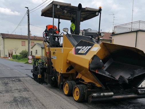 Cavallara, lavori agli asfalti iniziati in via Pecorara