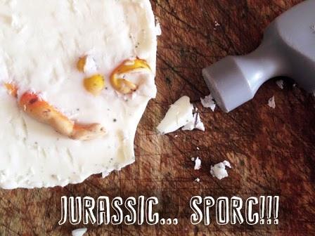 Il fossile da scavare fai-da-te (con un solo ingrediente e zero fatica!)