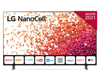 TV LED smart LG 50NANO756PA.API in offerta: venduta da Esselunga al prezzo di 699 euro!