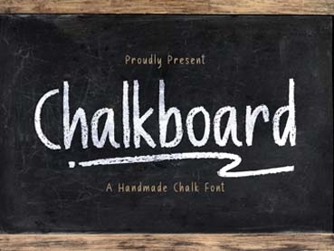 25+ Best Free Chalkboard Fonts (Download Now!)