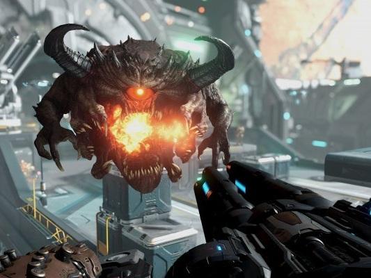 DOOM Eternal, due nuovi video di gameplay per lo sparatutto Bethesda - Video - PS4