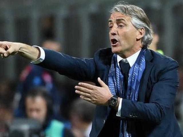 """Roberto Mancini: """"La Juve resta la più forte. Poi il Napoli. Balotelli al Brescia? Ora dipende solo da lui"""""""