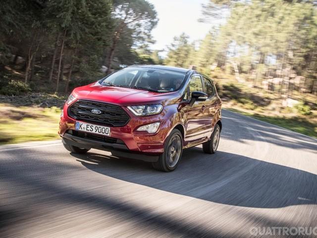 Ford - Al volante della EcoSport 1.5 TDCI AWD