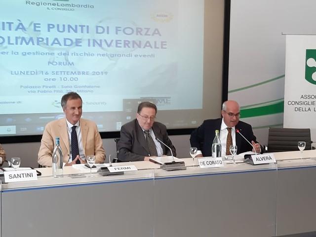 Milano, forum su 'Criticità e punti di forza di un'Olimpiade invernale'
