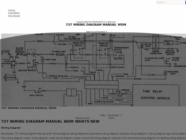 Wiring Diagram Manual Wdm