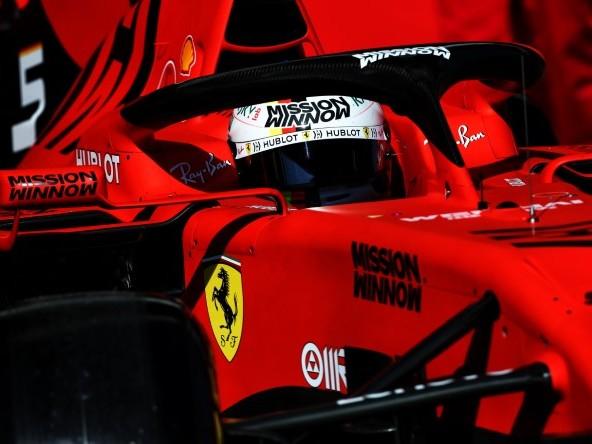 Ferrari, la SF90 sorprende anche Vettel
