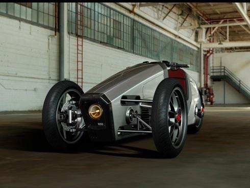 Mille Miglia: concept elettrico a tre ruote