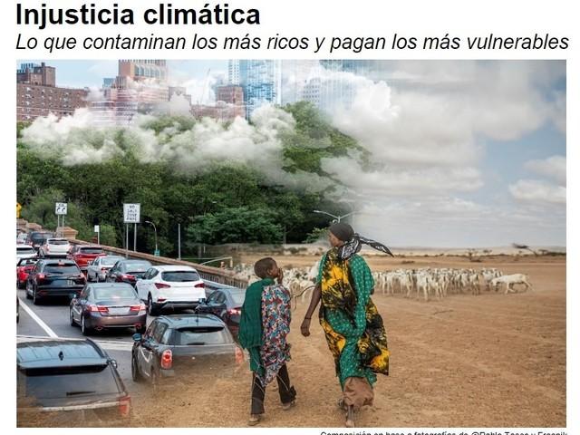 Il 10% più ricco del pianeta impatta sul clima 60 volte di più rispetto al 10% più povero