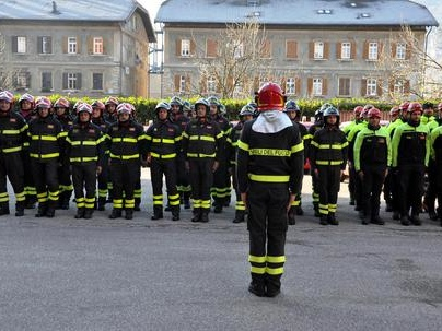La Santa Barbara dei pompieri per i Permanenti di Trento in media 21 uscite al giorno