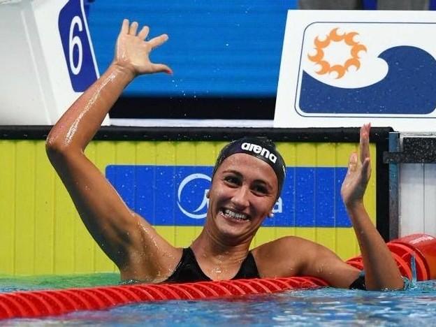 Europei in vasca corta: Quadarella oro negli 800 stile libero, bronzo per la Caramignoli