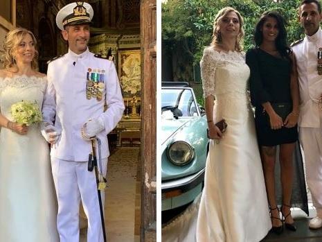 Il marò Latorre si è sposato, su Facebook il pensiero per Girone – Foto