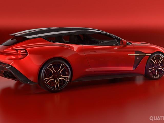 Aston Martin Vanquish - Nuove foto della Zagato Shooting Brake