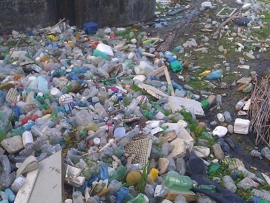 La Presidente della nazione dei rifiuti di plastica