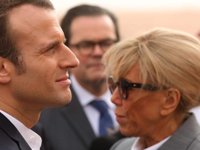 """Brigitte Macron rivela: """"Mio marito è più vecchio di me"""""""