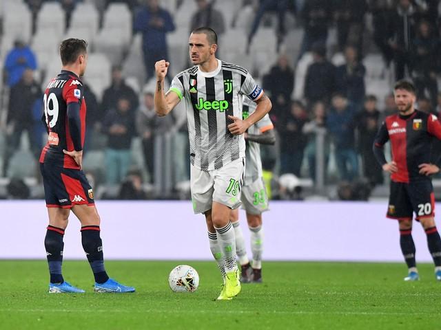 La Juventus vince al 96': Genoa ko 2-1. Bianconeri primi in classifica