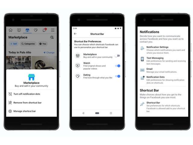 Facebook: nuove opzioni di controllo nel nuovo aggiornamento su iOS