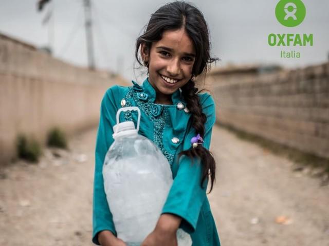 Dona acqua, salva una vita. La nuova campagna Oxfam