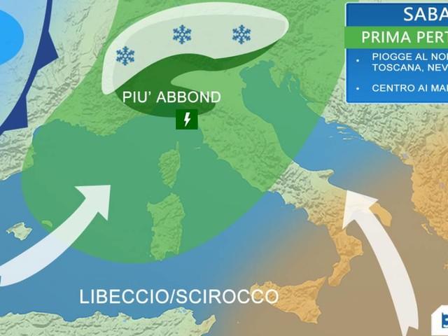 METEO Italia weekend - due perturbazioni sabato e domenica, ultimi IMPORTANTI AGGIORNAMENTI