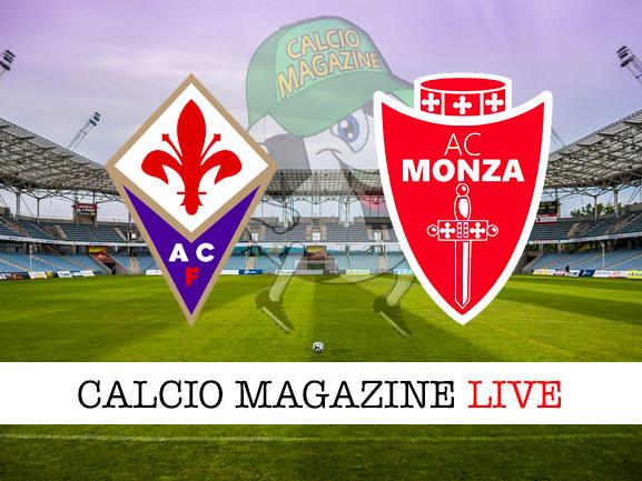 Fiorentina – Monza: cronaca diretta live, risultato in tempo reale