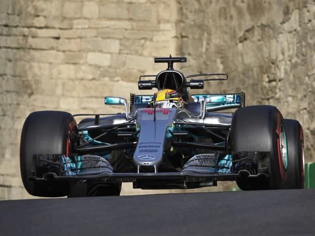 Gp Azerbaigian - Hamilton conquista la pole a Baku