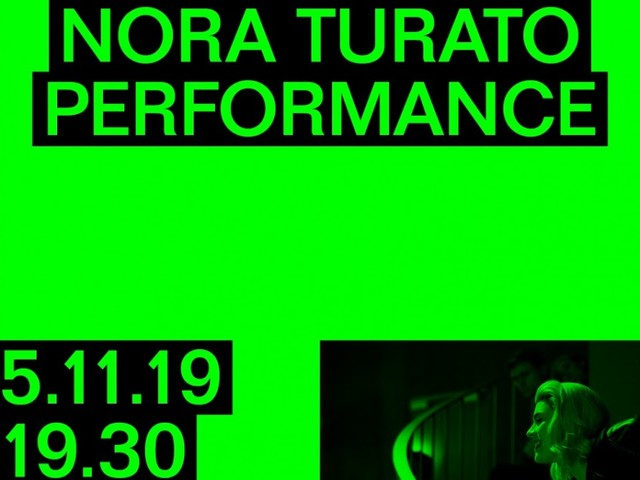 NORA TURATO – I'M HAPPY TO OWN MY IMPLICIT BIASES | 15.11.2019 h.19.30