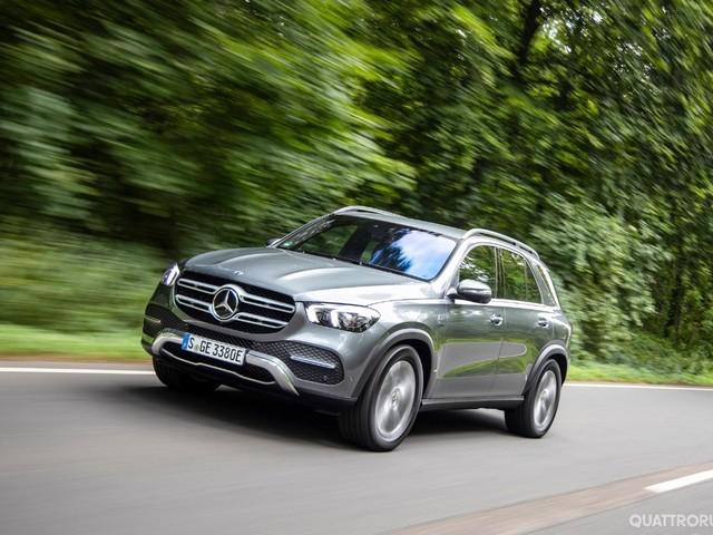 Mercedes GLE - La Suv è anche ibrida diesel