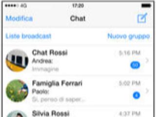 WhatsApp Messenger l'app si aggiorna alla vers 2.21.81