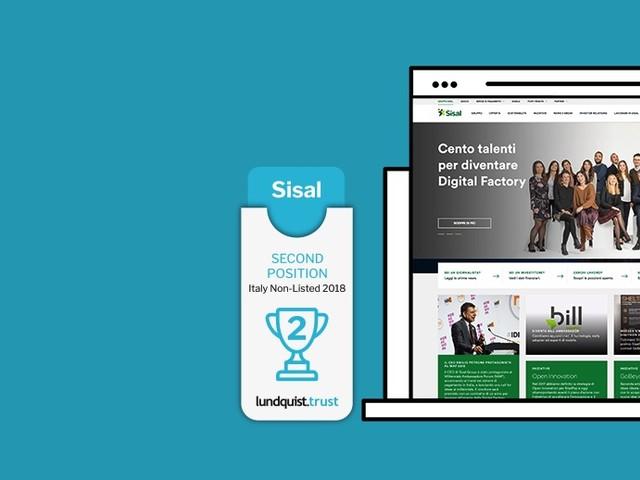 Comunicazione online, il Gruppo Sisal leader fra le aziende private