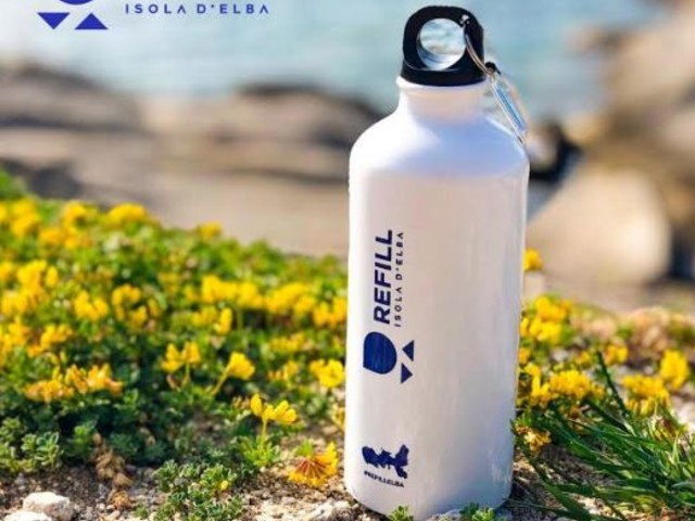 Refill Isola d'Elba: accordo con Legambiente Turismo e ASA